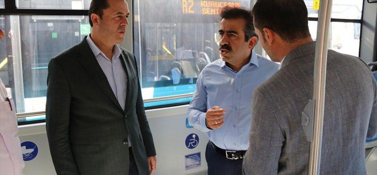 Diyarbakır'da ulaşım yarın ücretsiz olacak