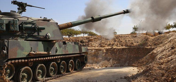 Barış Pınarı'nda da teröristlerin üzerinde 'Fırtına' gürlüyor