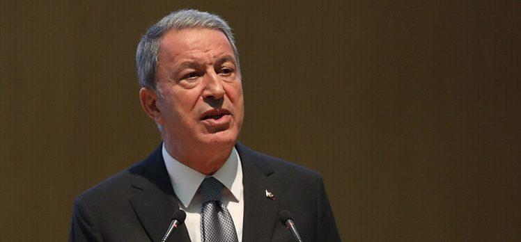 Milli Savunma Bakanı Akar: Taciz ve saldırılara karşı meşru müdafaa hakkımız daima geçerli