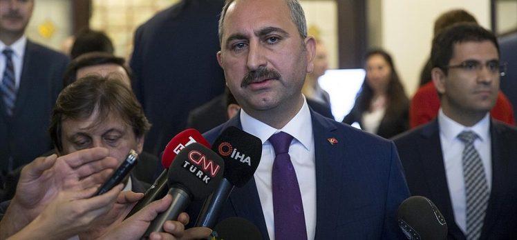 Adalet Bakanı Gül: Yargıya güven artırıcı çalışmalar devam edecek