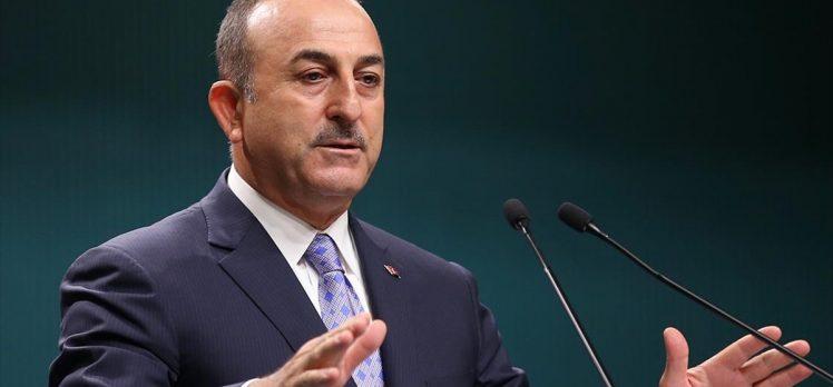 Dışişleri Bakanı Çavuşoğlu: Biz Barış Pınarı Harekatı'nı terör örgütüne karşı yaptık
