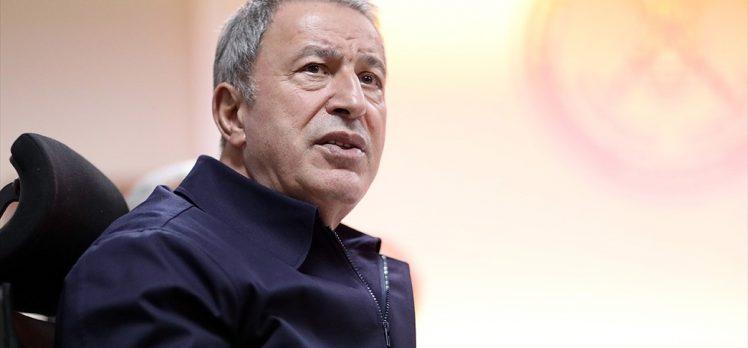 Milli Savunma Bakanı Akar: Rejim ordusundan 18 kişinin Rusya'ya teslimi için görüşmeler sürüyor