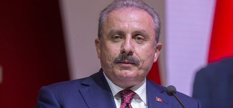 TBMM Başkanı Şentop: Amerika'nın Türkiye'nin güvenliğini düşündüğü yok