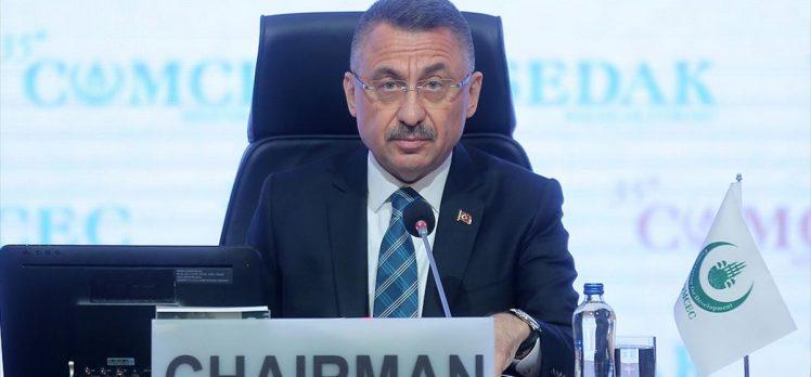Cumhurbaşkanı Yardımcısı Oktay: İSEDAK şemsiyesi altında barışa ve istikrara hizmet edebileceğiz