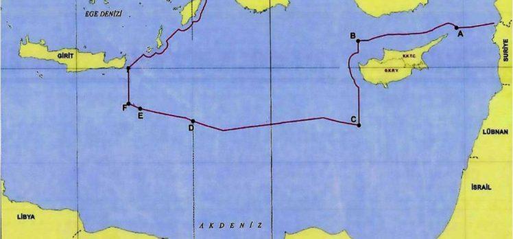 Dışişleri Bakanlığı Türkiye'nin Doğu Akdeniz'deki kıta sahanlığı ve MEB sınırlarını paylaştı