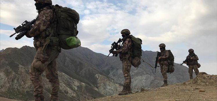 Ağrı'nın Tutak ilçesi kırsalında 4 terörist etkisiz hale getirildi