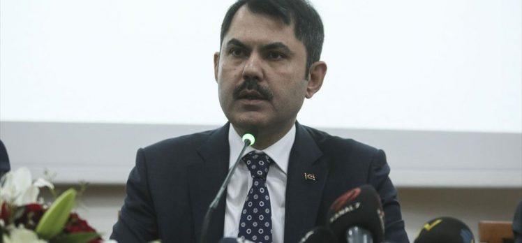 Çevre ve Şehircilik Bakanı Kurum: 100 bin sosyal konut için başvuru sayısı 130 bine ulaştı