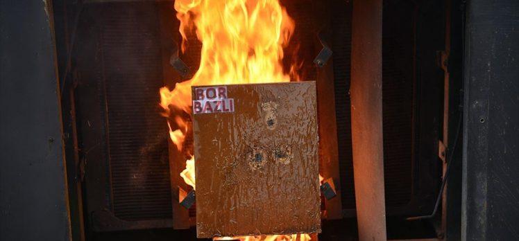Yangınlara karşı bor madeninden 'jel' ürettiler