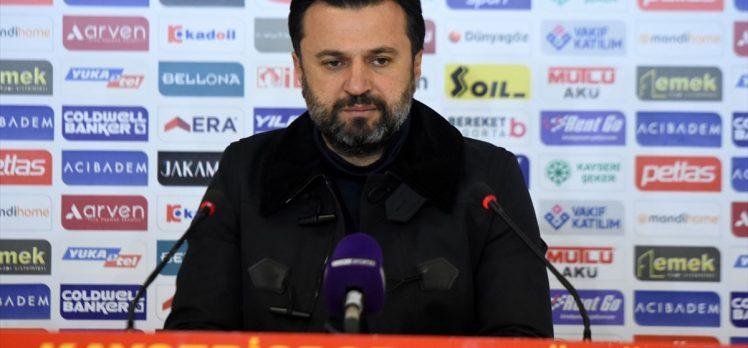 Kayserispor'da teknik direktör Bülent Uygun'la yollar ayrıldı