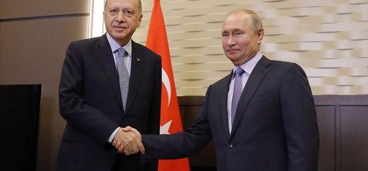 Cumhurbaşkanı Erdoğan ile Putin, Libya ve Suriye krizini ele alacak