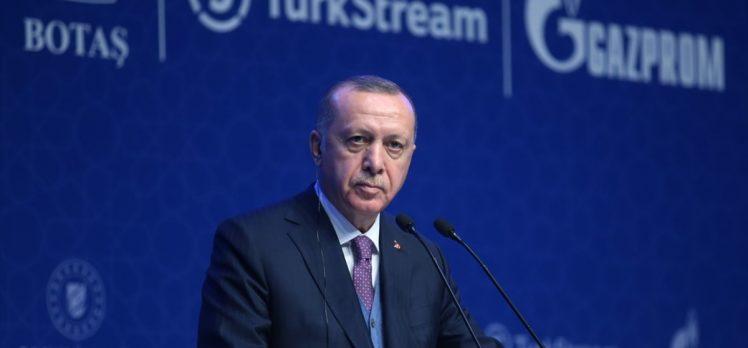 Cumhurbaşkanı Erdoğan'dan 'TürkAkım Projesi' paylaşımı