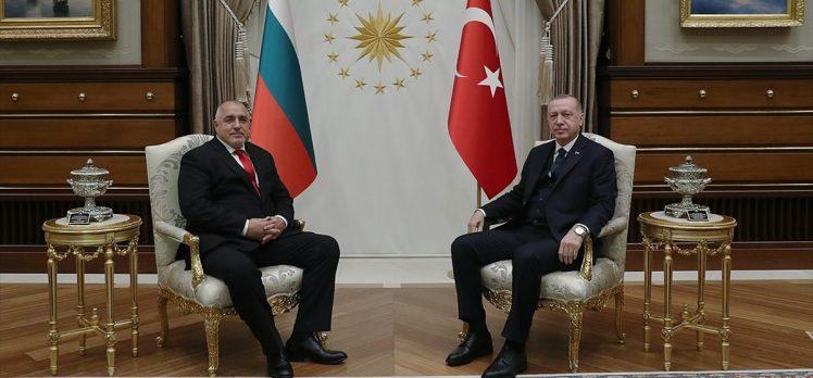 Cumhurbaşkanı Erdoğan Bulgaristan Başbakanı Borisov'u kabul etti