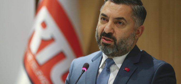 RTÜK Başkanı Şahin'den 'sorumlu yayıncılık' vurgusu