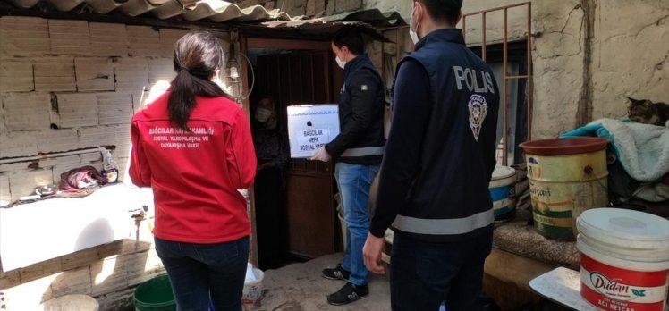 Bağcılar'da Vefa Sosyal Destek Grubu vatandaşların ihtiyacını karşıladı