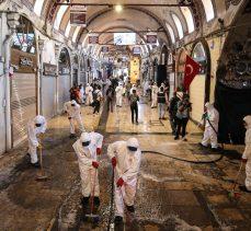 Tarihi Kapalıçarşı dezenfekte edilerek açılışa hazırlandı