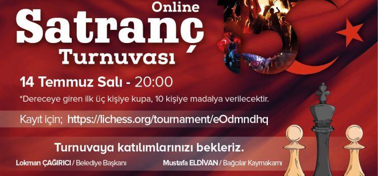 Bağcılarda'da 15 TEMMUZ'a Özel Satranç Turnuvası