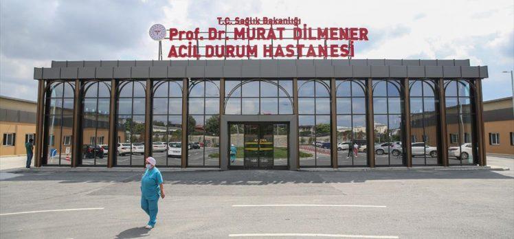 Prof. Dr. Murat Dilmener Acil Durum Hastanesi Kovid-19 yükünü omuzluyor