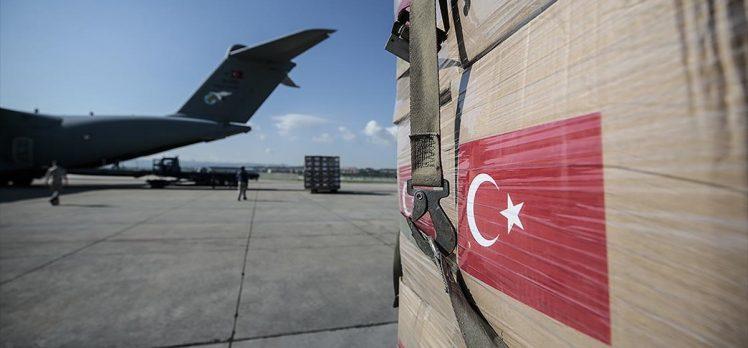 Türkiye'den Cezayir, Paraguay ve Sırbistan'a Kovid-19 sürecinde tıbbi malzeme yardımı
