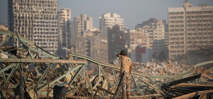 Beyrut Limanı'ndaki patlama sonrası kayıp durumundaki kişilerin aileleri AA'ya konuştu