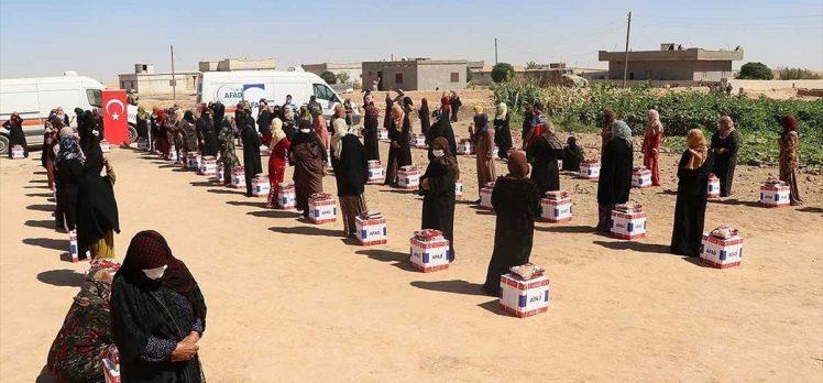 Türkiye'den Barış Pınarı Harekatı bölgesine dev yardım