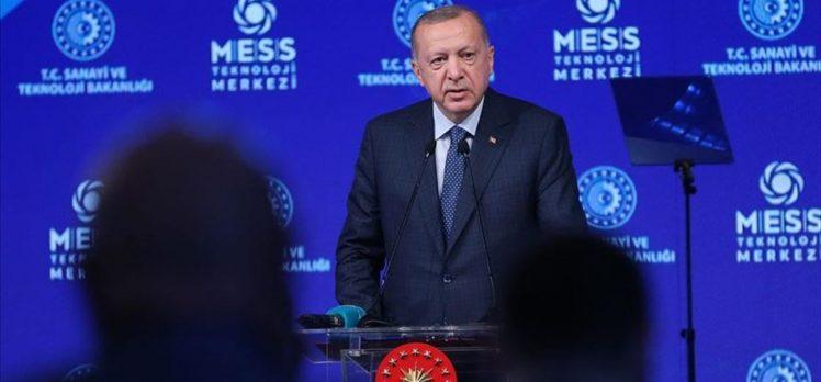 Cumhurbaşkanı Erdoğan: Türkiye'yi küresel bir üretim ve teknoloji merkezi haline dönüştürmekte kararlıyız