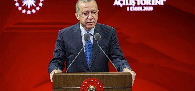 Cumhurbaşkanı Erdoğan: Doğu Akdeniz'deki, Ege'deki faaliyetlerimizin özünde hak ve adalet arayışı vardır