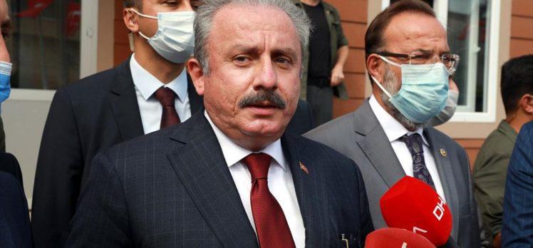 TBMM Başkanı Şentop: Belli suçlara mahsus olmak üzere idam cezasının bulunması gerektiği kanaatindeyim