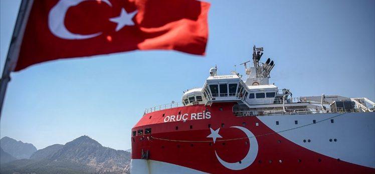 Milli Savunma Bakanlığından Oruç Reis araştırma gemisiyle ilgili 'özel' video