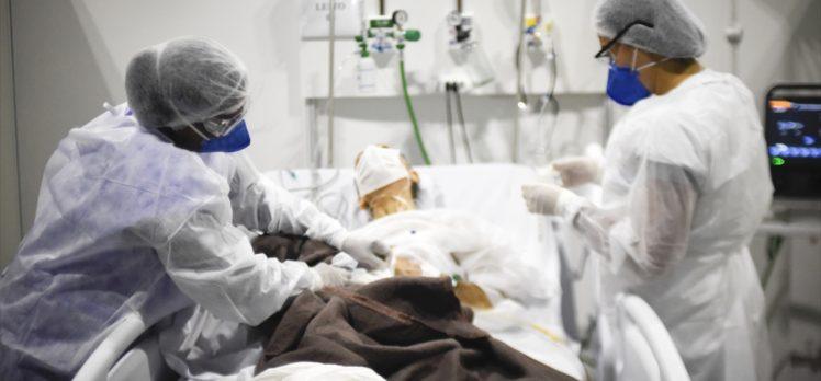 Kovid-19 nedeniyle son 24 saatte Hindistan'da 1133, Brezilya'da 310, Meksika'da 223 kişi öldü