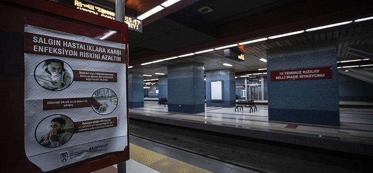 Ankara Valiliğinden raylı sistemlerde yolcu taşıma kararı