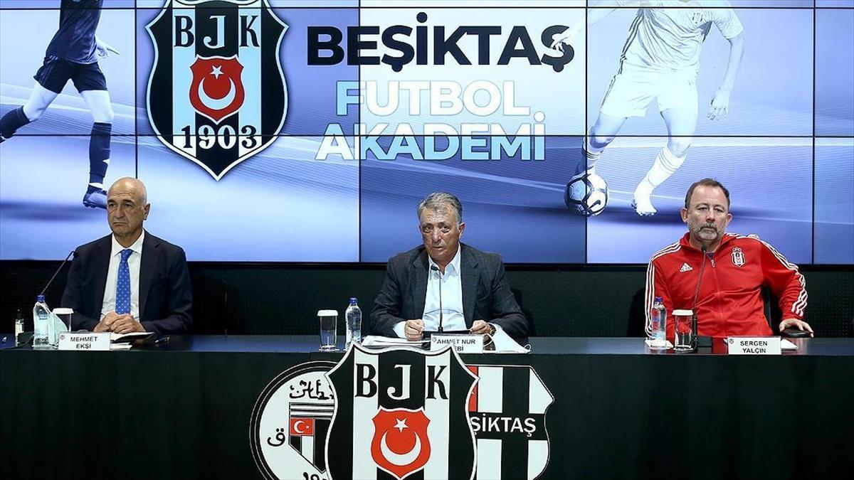 Beşiktaş'ın altyapısında Mehmet Ekşi ile yeni dönem başlıyor