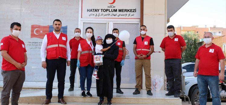 İç savaşın parçaladığı yaşamları Türk Kızılay birleştiriyor