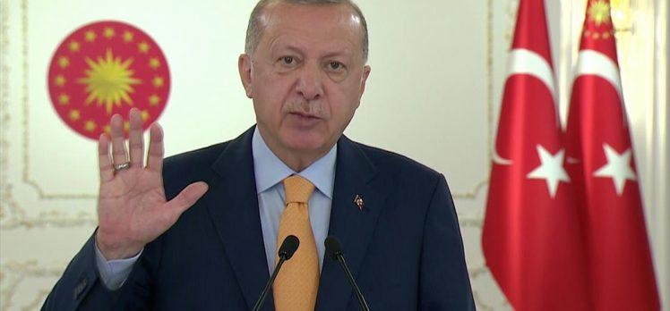 Cumhurbaşkanı Erdoğan: Salgınla birlikte 'Dünya Beşten Büyüktür' tezinin haklılığını bir kez daha görmüş olduk