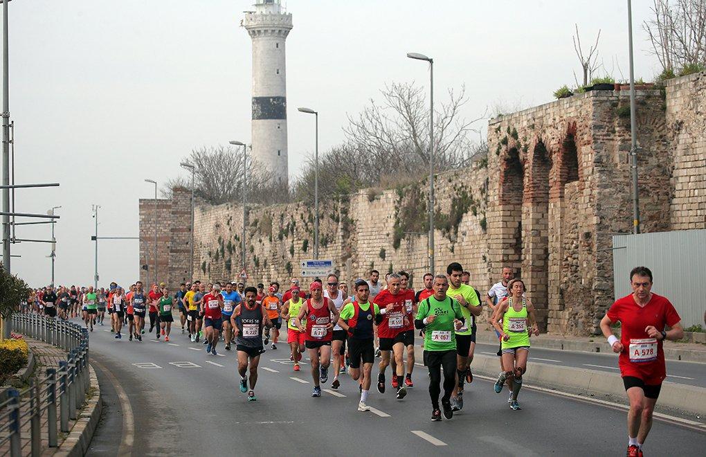 Vodafone İstanbul Yarı Maratonu koşuldu