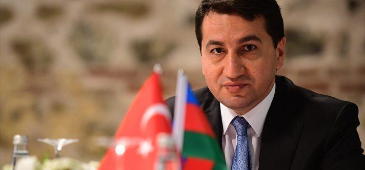 Azerbaycan Cumhurbaşkanı Yardımcısı Hacıyev: Paşinyan'ın 'diplomatik çözümü yoktur' açıklaması saygısızlıktır