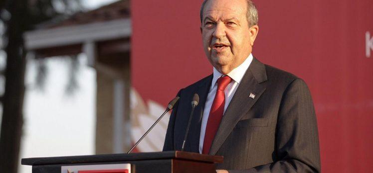KKTC'de Cumhurbaşkanı Tatar görevi devraldı