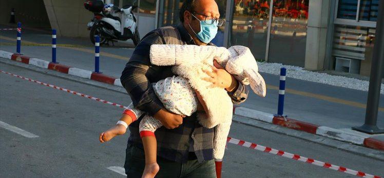 Enkazdan 91 saat sonra kurtarılan 3 yaşındaki Ayda Gezgin taburcu edildi