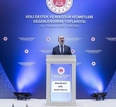 Bakan Gül: Onarıcı adalet anlayışıyla mağdura tanınan hakları daha da geliştiriyoruz