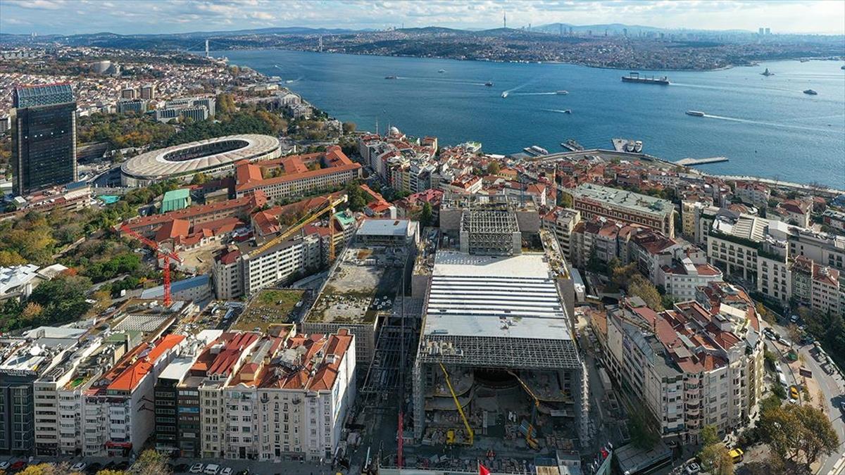 Yeni Atatürk Kültür Merkezi inşaatının yüzde 78'i tamamlandı