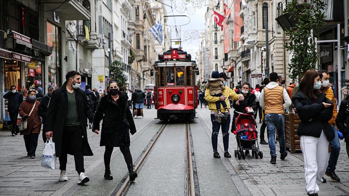 Kovid-19 tedbirleri kapsamında İstiklal Caddesi'ne girişler sınırlandırıldı