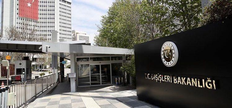 Dışişleri Bakanlığı: ABD'nin Türkiye'ye karşı tek taraflı yaptırımlar içeren kararını kınıyor ve reddediyoruz