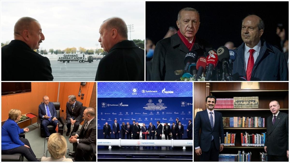 Cumhurbaşkanı Erdoğan'ın 2020 mesaisi