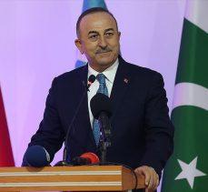 Dışişleri Bakanı Çavuşoğlu: Türkiye Maarif Vakfı Pakistan'da üniversite açmayı planlıyor