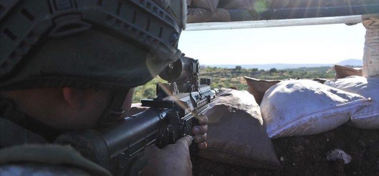 Fırat Kalkanı bölgesine sızma girişiminde bulunan 5 PKK/YPG'li terörist etkisiz hale getirildi