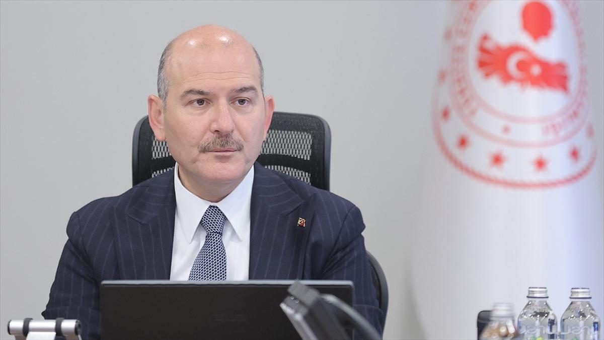İçişleri Bakanı Soylu, 2020 yılına oranla kadın cinayetlerinde yüzde 21 azalma sağlandığını bildirdi
