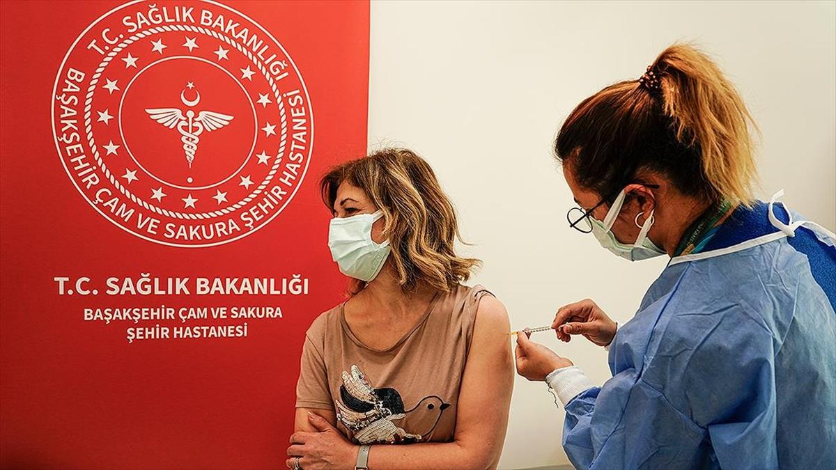 İstanbul'da toplam 2 milyon 814 bin 919 doz aşı yapıldı