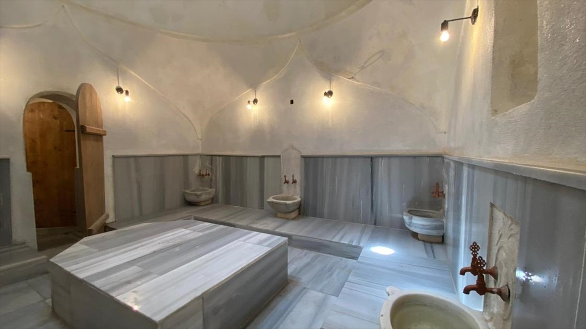 Bartın'da 131 yıllık hamam turizme kazandırıldı