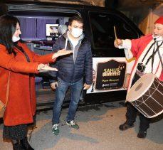 Radyocu Beyza, Ramazan Davulcusu Olup Bağcılarlıları Sahura Kaldırdı