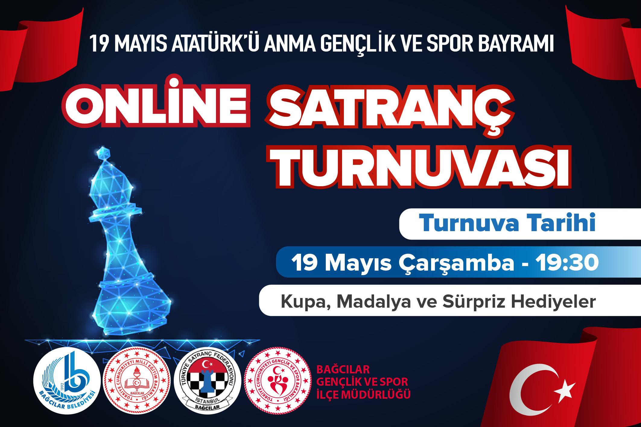 Online Satranç Turnuvası 19 Mayıs 2021