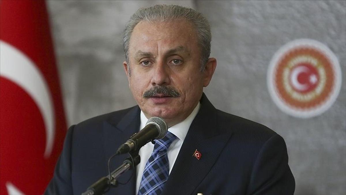 TBMM Başkanı Şentop: Mescid-i Aksa'da namaz kılan cemaate saldırı açık bir devlet terörüdür